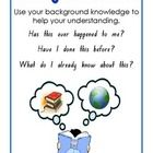 A set of 6 posters that can be used as a reference for students when using the Super Six Reading Comprehension Strategies....