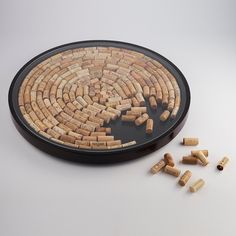 Buy the Wine Cork Lazy Susan Kit at Wine Enthusiast – we are your ultimate destination for wine storage, wine accessories, gifts and more! Wine Craft, Wine Cork Crafts, Wine Cork Art, Wine Corks, Wine Cork Projects, Craft Projects, Lazy Susan, Wine Storage, Cork Ideas