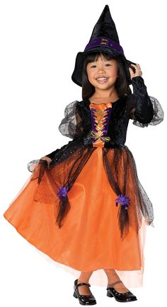Rubies Little Princess Childs Pretty Witch Costume - Free Shipping