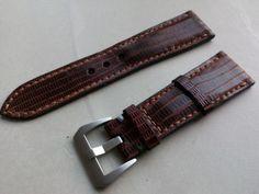 Handmade lizard Panerai strap