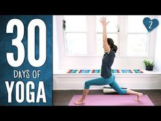 """Day 2 - Stretch & Soothe - 30 Days of Yoga"" -Review of video here: http://wp.me/p2usKq-wO A big ""thank you"" to everyone who watched and commented on my first vlog, a recap of the Yoga with Adriene 30 Days of Yoga Day 2 and a bit of exciting news."