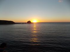 Algarrobo sunset, Chile.