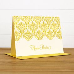 Personalized Stationery / Personalized by SilhouetteBlue on Etsy, $15.00