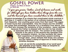 Lord, keep us receptive to Kingdom-knowledge.