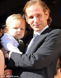 Andrea Casiraghi actually married up! Wife of Monaco royal heir Tatiana Santo Domingo lands on Forbes' 2015 World Billionaires list (worth $2B) - but he failed to make the cut | Daily Mail Online
