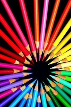 ~ Rainbow of Colours Happy Colors, All The Colors, Vibrant Colors, Taste The Rainbow, Over The Rainbow, World Of Color, Color Of Life, Image Crayon, Photo Macro
