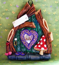 salt dough fairy door (3)
