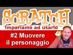 #2 Scratch: comandi di movimento | Daniele Castelletti | Associazione Maggiolina - YouTube Teaching Resources, Dads, Coding, Youtube, Website, Smartphone, Meet, English, Autism