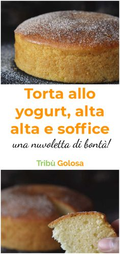 La #tortaalloyogurt : riuscite ad immaginare un dolce più soffice ed al tempo stesso delizioso e semplice? Noi abbiamo una ricetta semplicissima per preparare una perfetta #torta allo #yogurt   #tribugolosa #gourmettribe #golosiditalia #cucina #cucinaitaliana #cucinare #italianrecipes #food #italianfood #foodstyling #yummy #foodlover #ricette #recipe #homemade #delicious #ricettefacili Tortilla Sana, My Favorite Food, Favorite Recipes, Healthy Cake, Pinterest Recipes, Sweet And Salty, Cooking Time, I Foods, Baking Recipes