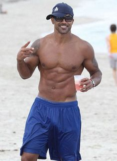 Actor, and former fashion model, Shemar Moore...