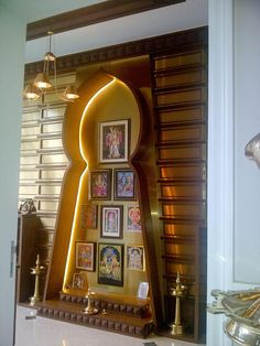 Puja Room Designs - Vivek Prabhu Architect