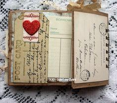 paperbag album found at http://sugarlumpstudios.com/?p=4174 Paper Bag Books, Paper Bag Album, Paper Bag Crafts, Book Crafts, Paper Sack, Mini Albums, Mini Scrapbook Albums, Scrapbook Pages, Paper Bag Scrapbook