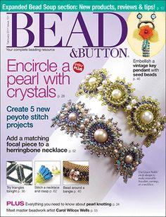 101 Bead & Button Magazine, 2011 February, #101 (Used) at Sova-Enterprises.com