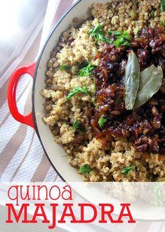 Quinoa Majadra and Bob's Red Mill #Giveaway