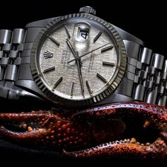 Rolex DateJust from 1979 - Spiegelgracht Juweliers Rolex Watches For Men, Vintage Watches For Men, Vintage Rolex, Luxury Watches, Wrist Watches, Rolex Datejust, Pharrell Williams, Professional Haircut, Retirement Party Decorations