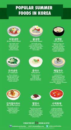 9 Popular Summer Foods to Try in Korea