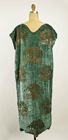 Dress  Vitaldi Babani, 1924-1926  The Metropolitan Museum of Art