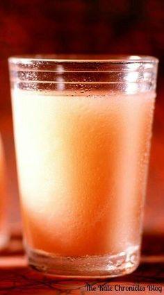 1 cup grapefruit juice 2 tbsp applecider vinegar, 1 tsp honey