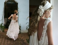 pretty backless and lace