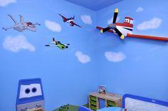 Planes room boys room