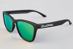 Hadar Mate Black - Green Polarized