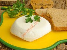 Ev Yapımı Köy Peyniri Tarifi Yapılış Aşaması 18/20 Camembert Cheese, Yogurt, Food And Drink, Bread, Canning, Erdem, Homemade Recipe, Cuisine, Recipes
