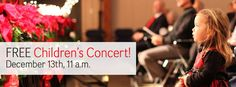Music in the Mountains Free Children's Concert, December 13th, 11am, Nevada County Fairgrounds, additional Holiday POPS concerts both Saturday and Sunday.