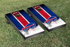 Buffalo Bills NFL Football Cornhole Game Set Vintage Version 2
