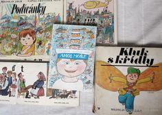 Nedávno jsem hledala u rodičů nějaké knížky pro malou a s velkou radostí objevila Podívánky od Františka Nepila s ilustracemi Miloslava Jágra (Albatros 1981)