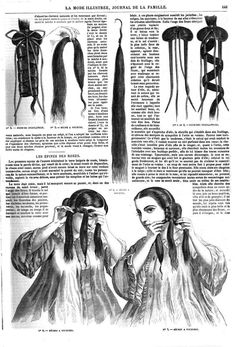 Styling and inserting a hair switch to increase hair volume. Civil War Hairstyles, Historical Hairstyles, Wig Hairstyles, Victorian Hairstyles, Vintage Hairstyles, Renaissance Hairstyles, Historical Costume, Historical Clothing, Jean Délavé