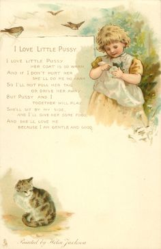 I Love Little Pussy by Helen Jackson