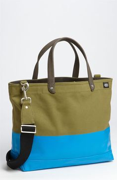 Jack Spade 'Industrial Dipped Coal' Canvas Bag. Tote bag, beach bag,work bag.
