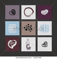 http://www.shutterstock.com/pic-313217480/stock-vector-set-of-nine-creative-paper-cards-hand-drawn-ink-textures-vector.html?rid=1558271
