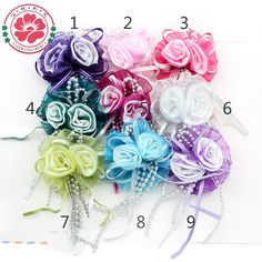 Find More Decorative Flowers & Wreaths Information about 538 free shipping Satin ribbon roses flowers satin flowers corsage wedding hand corsage 20pcs/lot,High Quality flower barrette,China flower corsage brooch Suppliers, Cheap flower modern from Yiwu City Weijing Flower Factory on Aliexpress.com