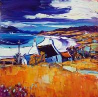 On the way to Elgol, Skye Colorbox, Vibrant Colors, Colours, Oil On Canvas, Landscape, Gallery, Painting, Art, Art Background