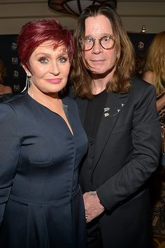 27 Celebrity Couples Who Prove Love Can Last A Lifetime  ~ OZZY & SHARON OSBORNE IN 2015 ~
