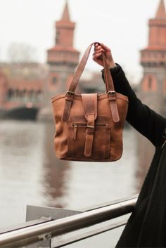 """She's tough. She's chic. She's unconventional. She's practical.She's just fantastic! Our """"Rachel"""" handbag impresses with her youthful style and functional design."""