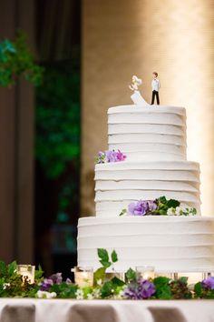 Photography: unison | Ryoko Igari #パレスホテル東京 #ウエディング #結婚式 #ウエディングケーキ