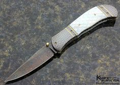 A mother of pearl John Smith folder is one of the three knives still missing. (KnifePurveyor.com photo)