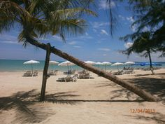 The white sand beach,khao lak