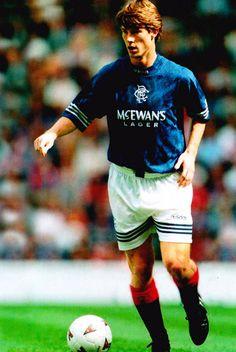 Football Photo BRIAN LAUDRUP Rangers 1994-95 | eBay