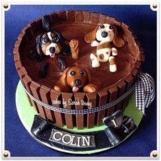 Dog Cake Decorations Nz : Puppy Dog Cakes on Pinterest Dog Cakes, Puppy Dog ...