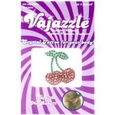 I'm learning all about Vajazzle Crystal Tattoo Cherries Body Toppings at @Influenster!
