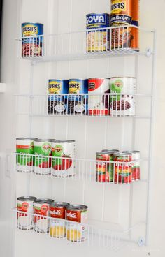 10 Tips for an Organized Pantry   Create an organized pantry with these 10 tips on making the most of your food storage space from @Nina Hendrick Design Co.!