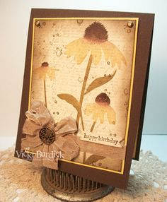 It's a Stamp Thing, Vicki.  Inspired by Nature.  Stampin' Up!