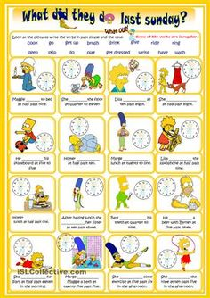 Present Perfect ESL EFL Activities Games Worksheets