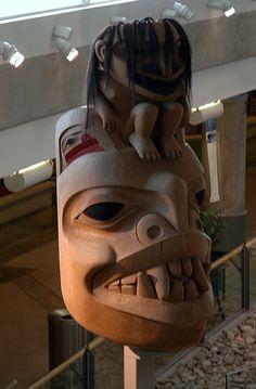 His most famous sculpture – The Spirit of Haida Gwaii – Bill Reid |
