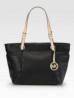 MICHAEL MICHAEL KORS Top-Zip Tote Bag - Black