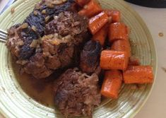 Crockpot Pot Roast Recipe by Pot Roast Recipes, Slow Cooker Recipes, Crockpot Recipes, Cooking Recipes, Baby Food Recipes, Healthy Recipes, Food Baby, Healthy Food, Healthy Eating