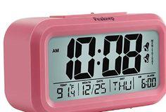 Small Portable Folding Travel Alarm Clock Temperature Calendar Snooze Usef UXE
